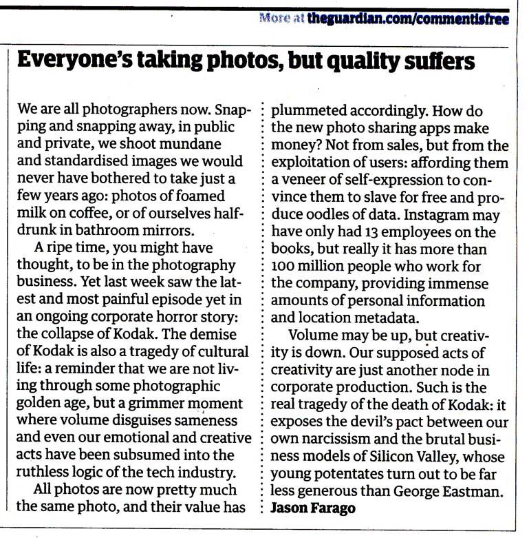 Goodbye Kodak