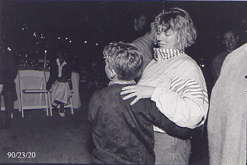 and then I had to dance with my Aunt Jane